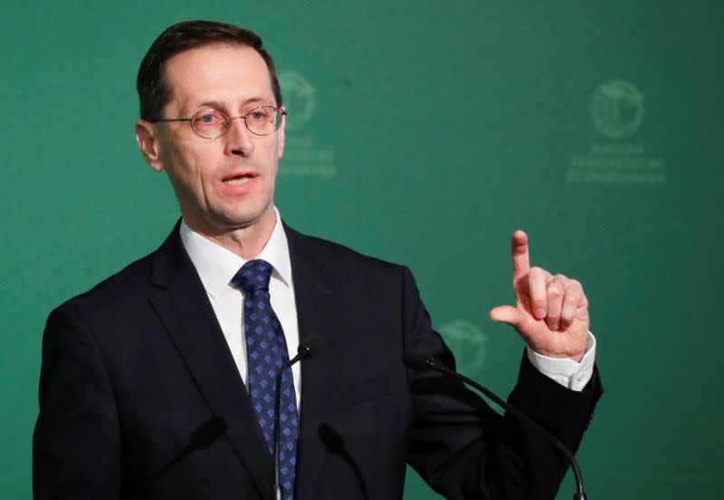 Hungary's economy could stagnate under worst-case virus scenario - finance minister