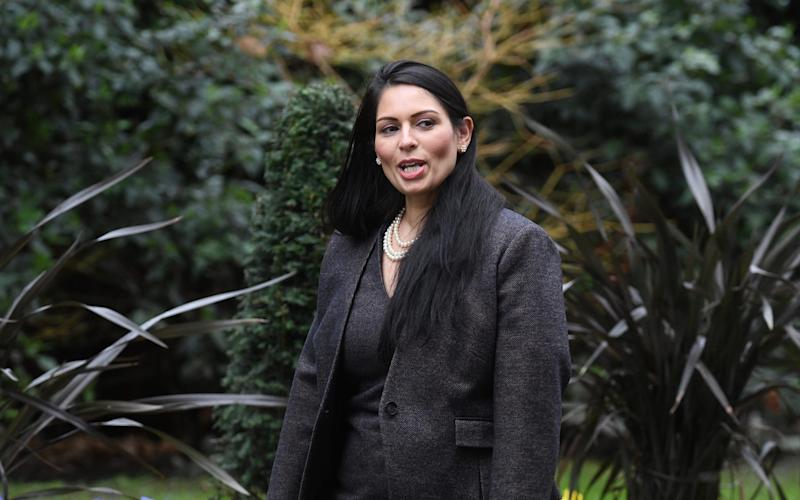 "Priti Patel, the Home Secretary, was said to be ""furious"" at the legal delay - Julian Simmonds"