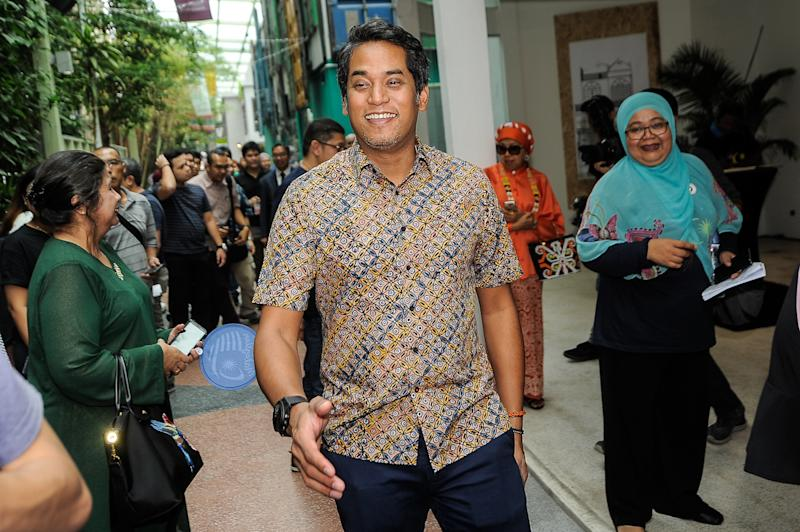 Rembau MP Khairy Jamaluddin said an open probe into the state investment firm will also benefit his party, which lost significant support because of the fiasco. ― Picture by Shafwan Zaidon