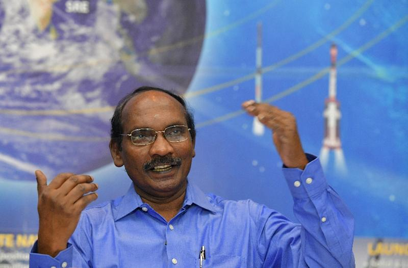 Space agency chief Kailasavadivoo Sivan says India will send its first manned mission to space by December 2021 (AFP Photo/MANJUNATH KIRAN)