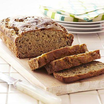 """<p>The whole wheat flour in this recipe makes the loaf just a little healthier.</p><p><strong><a href=""""https://www.countryliving.com/food-drinks/recipes/a33174/banana-quick-bread-recipe-ghk0312/"""" rel=""""nofollow noopener"""" target=""""_blank"""" data-ylk=""""slk:Get the recipe"""" class=""""link rapid-noclick-resp"""">Get the recipe</a>.</strong></p><p><a class=""""link rapid-noclick-resp"""" href=""""https://www.amazon.com/USA-Pan-1140LF-Bakeware-Aluminized/dp/B0029JQEIC/?tag=syn-yahoo-20&ascsubtag=%5Bartid%7C10050.g.35246097%5Bsrc%7Cyahoo-us"""" rel=""""nofollow noopener"""" target=""""_blank"""" data-ylk=""""slk:SHOP LOAF PANS"""">SHOP LOAF PANS</a><br></p>"""