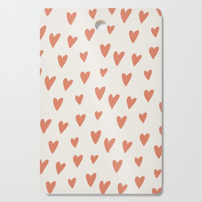 <p>A <span>Hearts Hearts Hearts Cutting Board</span> ($22, originally $27) is an adorable addition to a countertop.</p>