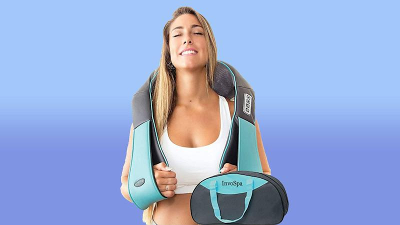 Suffering from muscle tension or a stiff neck? Just need to de-stress? This bargain buy is for you. (Photo: Amazon)