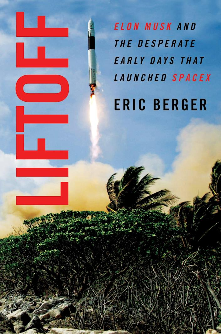 LIFTOFF cover eric berger book