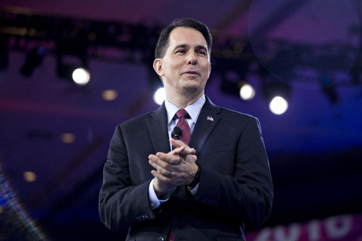Wisconsin Gov. Scott Walker speaks during the American Conservative Union's Conservative Political Action Conference in March. (Photo: Andrew Harrer/Bloomberg via Getty Images)