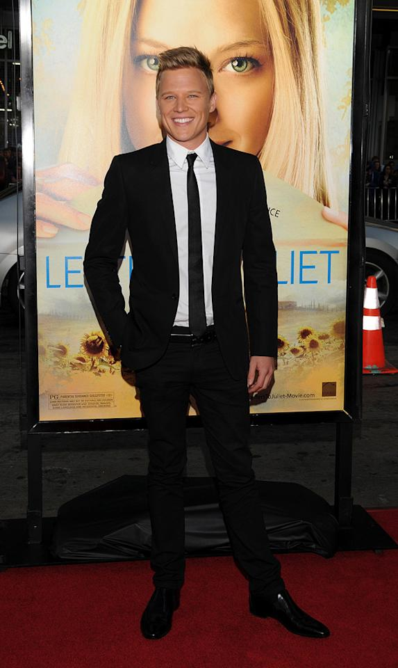 """<a href=""""http://movies.yahoo.com/movie/contributor/1809234822"""">Chris Egan</a> at the Los Angeles premiere of <a href=""""http://movies.yahoo.com/movie/1810089734/info"""">Letters to Juliet</a> - 05/11/2010"""