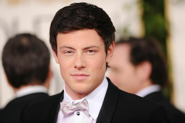 BEVERLY HILLS, CA - JANUARY 16: Actor Cory Monteith arrives at the 68th Annual Golden Globe Awards held at The Beverly Hilton hotel on January 16, 2011 in Beverly Hills, California. (Photo by Jason Merritt/Getty Images)
