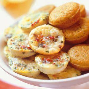 "<p>Have some extra eggs? Bake up these mini frittatas in a muffin pan.</p><p><span>Get the recipe from</span> <a href=""/cooking/recipe-ideas/recipes/a15851/mini-frittatas-recipe-mslo0511/"" data-ylk=""slk:Delish"" class=""link rapid-noclick-resp"">Delish</a><span>.</span></p>"