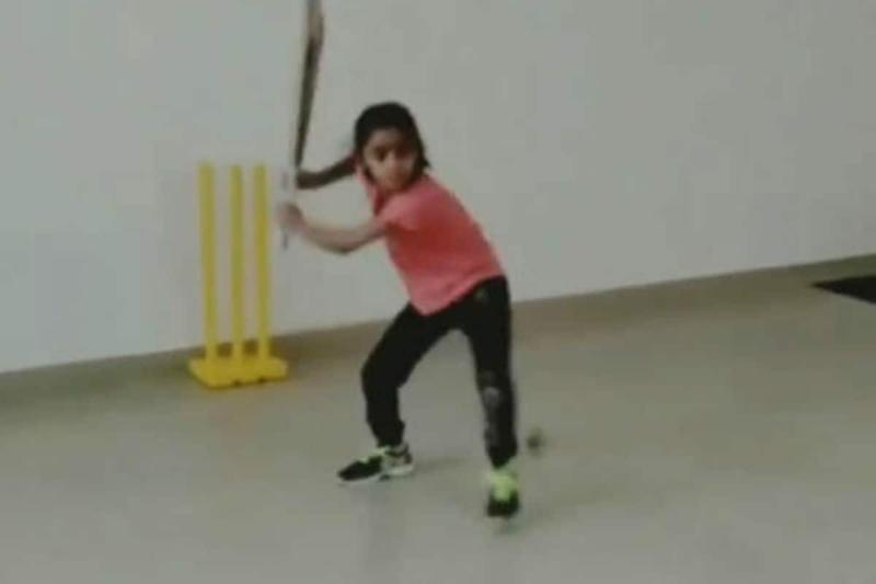 7-year-old Girl Masters MS Dhoni's Iconic Helicopter Shot, Ex-cricketers Laud Efforts