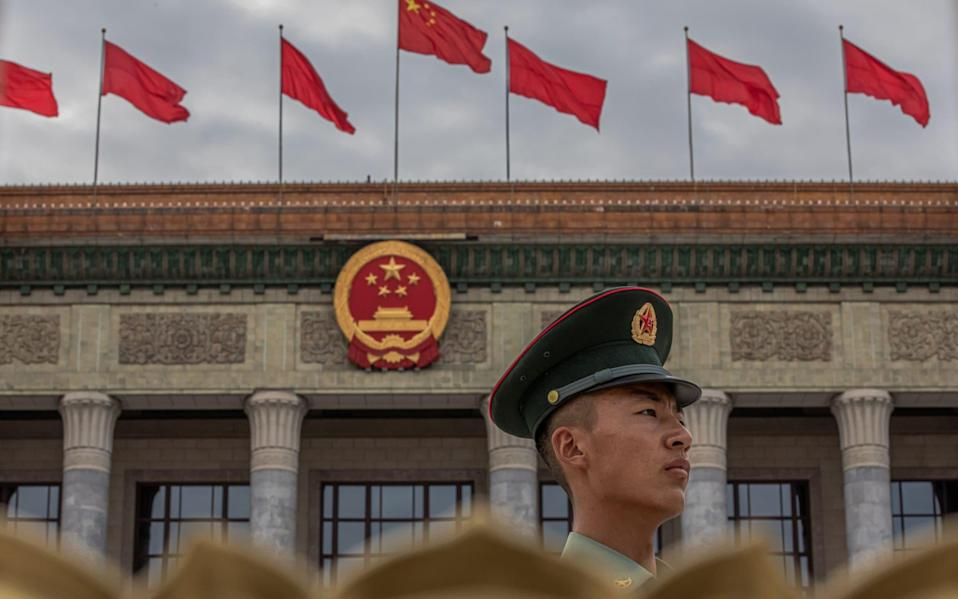 China's relationship with the West has become more strained in recent years - EPA