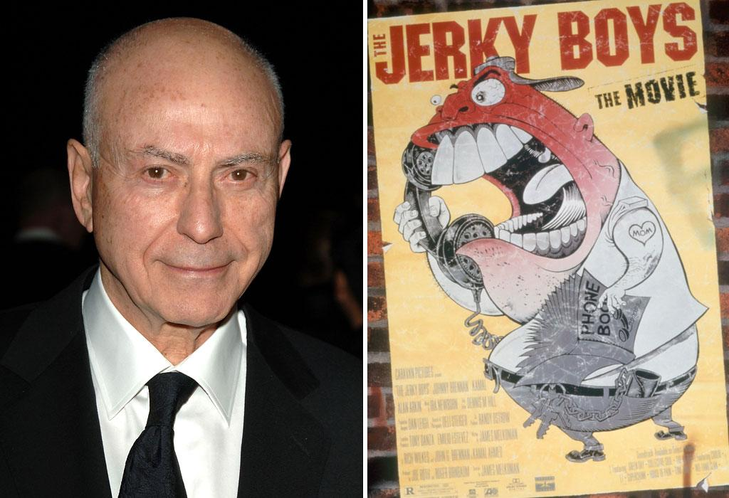"<b>'The Jerky Boys'</b><br>Remember those popular prank callers from the '90s. And remember when the duo appeared in a movie version of their telephone hijinx? Believe it or not, Alan Arkin -- who is nominated this year for his role in ""Argo,"" already has an Oscar, and has appeared in a slew of critically-acclaimed movies -- starred in the ""The Jerky Boys"" in 1995."