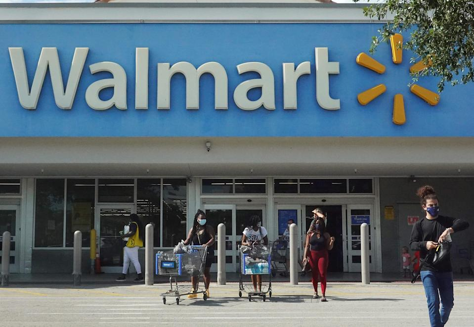 Walmart stores stopped requiring masks for fully vaccinated customers May 14, except where required by state or local mandate.