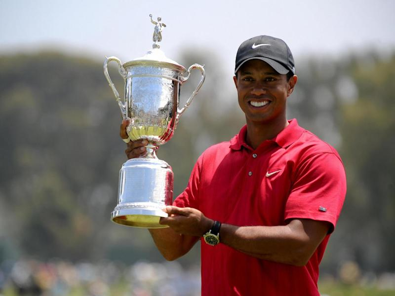 Woods last won a Major in 2008 (Getty)