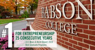 Babson's F.W. Olin Graduate School of Business celebrates a quarter century in the top spot