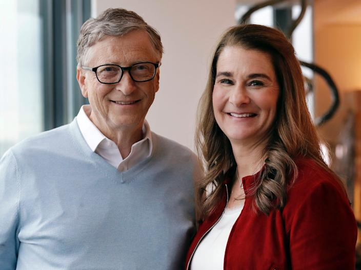 Bill and Melinda Gates in February 2019