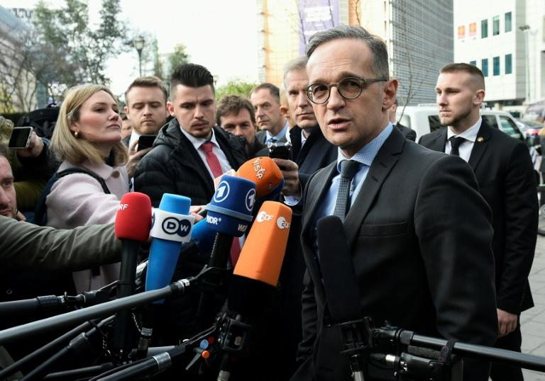 """German Foreign Minister Heiko Maas, meeting EU counterparts for crisis talks, urged that """"nothing must be swept under the table"""" as that """"would be the breeding ground for new mistrust"""" towards Iran (AFP Photo/JOHN THYS)"""