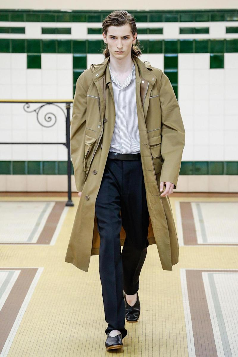 Lemaire SS17 at Paris Fashion Week (Rex Features)