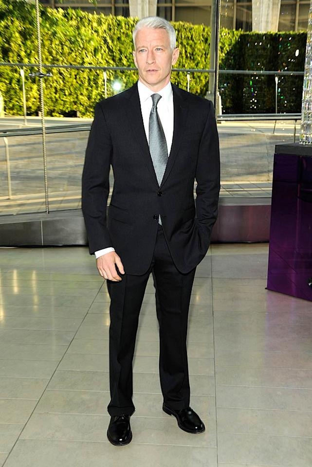 "A dapper-looking Anderson Cooper also attended the awards gala, put on by the Council of Fashion Designers of America. Kevin Mazur/<a href=""http://www.wireimage.com"" target=""new"">WireImage.com</a> - June 6, 2011"