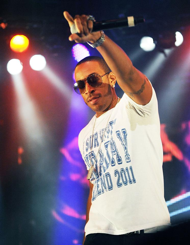Ludacris<br><br>Real name: Christopher Brian Bridges<br><br>(Photo by Chris McKay/WireImage)