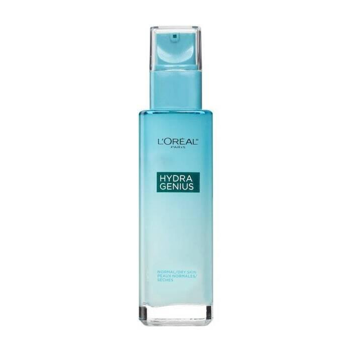 """Not only is <a href=""""https://www.allure.com/review/loreal-paris-hydra-genius-daily-liquid-care-moisturizer?mbid=synd_yahoo_rss"""" rel=""""nofollow noopener"""" target=""""_blank"""" data-ylk=""""slk:L'Oréal Paris Hydra Genius Daily Liquid Care"""" class=""""link rapid-noclick-resp"""">L'Oréal Paris Hydra Genius Daily Liquid Care</a> devastatingly chic (and a 2017 Best of Beauty Award-winner), one <em>Allure</em> editor described the texture as """"silky water"""" and praised its instantly cooling effects. Time to drink up."""