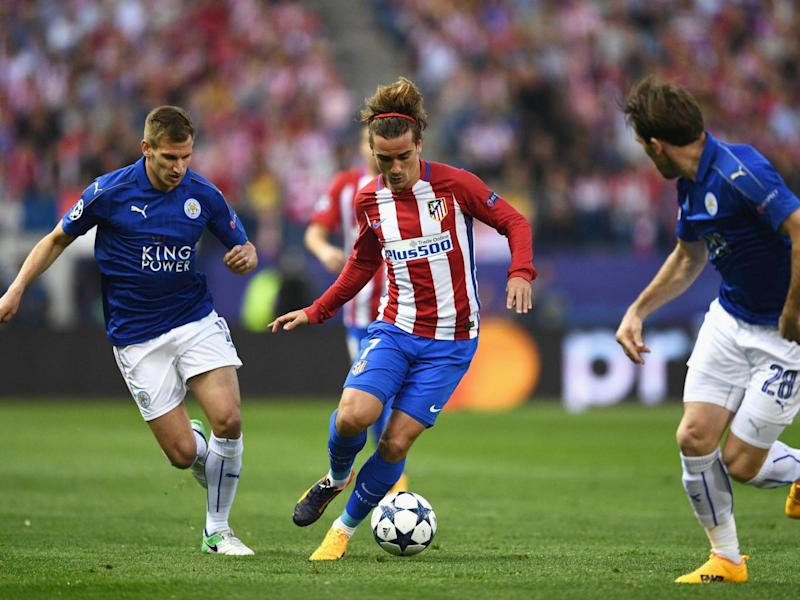 Griezmann excelled in the trequartista role against Leicester (Getty)