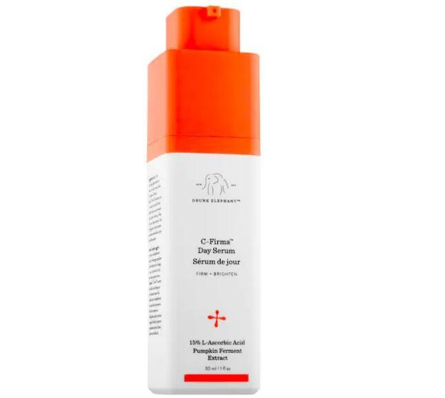 <p>No matter what's happening with my skin, I always use a vitamin C serum in the morning. The <span>Drunk Elephant C-Firma Vitamin C Day Serum</span> ($80) is especially great right now because it gently exfoliates my skin with L-ascorbic acid.</p>