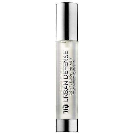 "<p>This clear gel primer with SPF 30 is created specifically to look perfect under makeup, and it gets bonus points for protecting against pollution damage. <a href=""http://www.urbandecay.com/defense-spf-primer-by-urban-decay/ud810.html"" rel=""nofollow noopener"" target=""_blank"" data-ylk=""slk:Urban Decay Urban Defense Complexion Primer Broad Spectrum SPF 30"" class=""link rapid-noclick-resp"">Urban Decay Urban Defense Complexion Primer Broad Spectrum SPF 30</a>, $34. (Photo: Urban Decay) </p>"