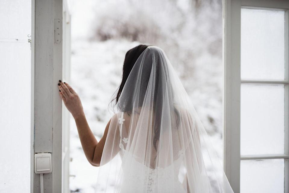 "<p>If you thought <a href=""https://www.goodhousekeeping.com/beauty/fashion/news/a47037/meghan-markle-wedding-dress/"" rel=""nofollow noopener"" target=""_blank"" data-ylk=""slk:Meghan Markle's wedding veil"" class=""link rapid-noclick-resp"">Meghan Markle's wedding veil</a> was long, get this: there's a woman in Cyprus who set the <a href=""https://www.guinnessworldrecords.com/news/2019/2/brides-dreams-comes-true-with-wedding-veil-thats-longer-than-63-football-fields"" rel=""nofollow noopener"" target=""_blank"" data-ylk=""slk:Guinness World Record"" class=""link rapid-noclick-resp"">Guinness World Record</a> for the longest wedding veil. How long was it, you ask? Nearly 23,000 feet, which is the same length as about 63.5 football fields.</p>"