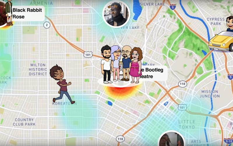 Snapchat Maps allows users to broadcast their location - Snapchat