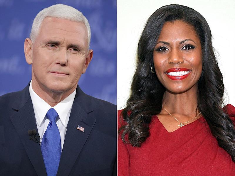 Omarosa Suspects Mike Pence's Office Wrote NYT Op Ed in an Effort to Make Pence PresidentMore