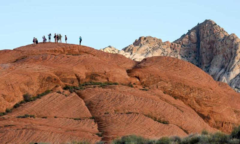 The administration has proposed leasing places like Slickrock Bike Trail in Utah, where visitors pedal through petrified sand dunes and ancient seabeds.