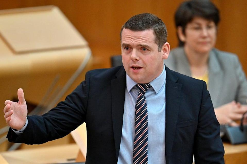 Douglas Ross responded to the First Minister's speech (Jeff J Mitchell/PA) (PA Wire)