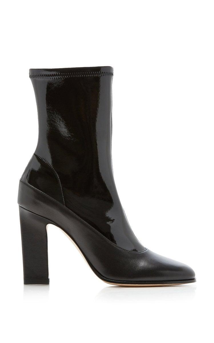 <p><span>Wandler Lesly Multi-Tonal Leather Ankle Boots</span> ($450, originally $750)</p>