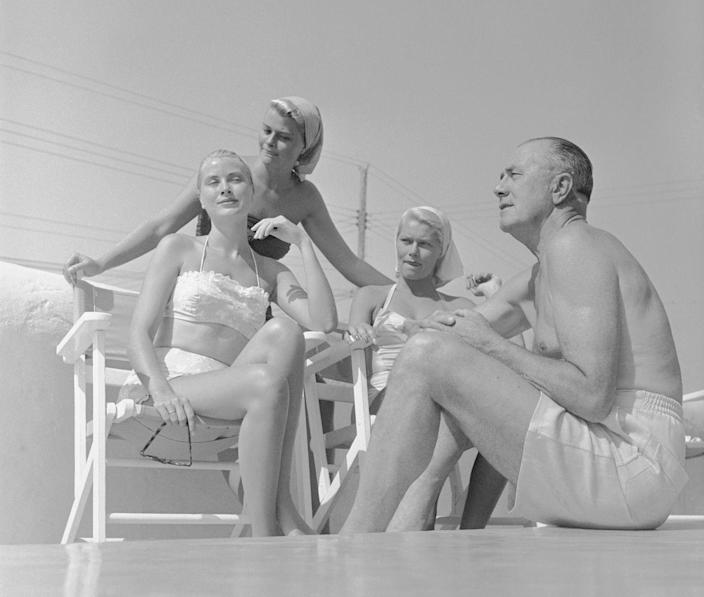 <p>On vacation with her family in Ocean City, NJ in 1954. </p>