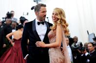 """<p>No one has ever questioned whether Blake Lively and Ryan Reynolds look good together. At this stage, it's just fact. But the couple's unwavering looks of love on the red carpet, and <a href=""""https://www.elle.com/uk/life-and-culture/news/g32670/blake-lively-ryan-reynolds-trolling-history/"""" rel=""""nofollow noopener"""" target=""""_blank"""" data-ylk=""""slk:back-and-forth trolling on Instagram"""" class=""""link rapid-noclick-resp"""">back-and-forth trolling on Instagram </a>and Twitter, show an <a href=""""https://www.elle.com/uk/life-and-culture/culture/news/a37407/blake-lively-ryan-reynolds-perfect-husband/"""" rel=""""nofollow noopener"""" target=""""_blank"""" data-ylk=""""slk:evident friendship at their core"""" class=""""link rapid-noclick-resp"""">evident friendship at their core</a>. Chuck in their unconditional support for one another's professional projects and they're really cemented as one of our favourite A-List couples.</p><p>The pair, who have three daughters together, met on the set of Green Lantern and married in 2012.</p><p>Here are a selection of their most adoring and in love photos from throughout the years.<br></p>"""