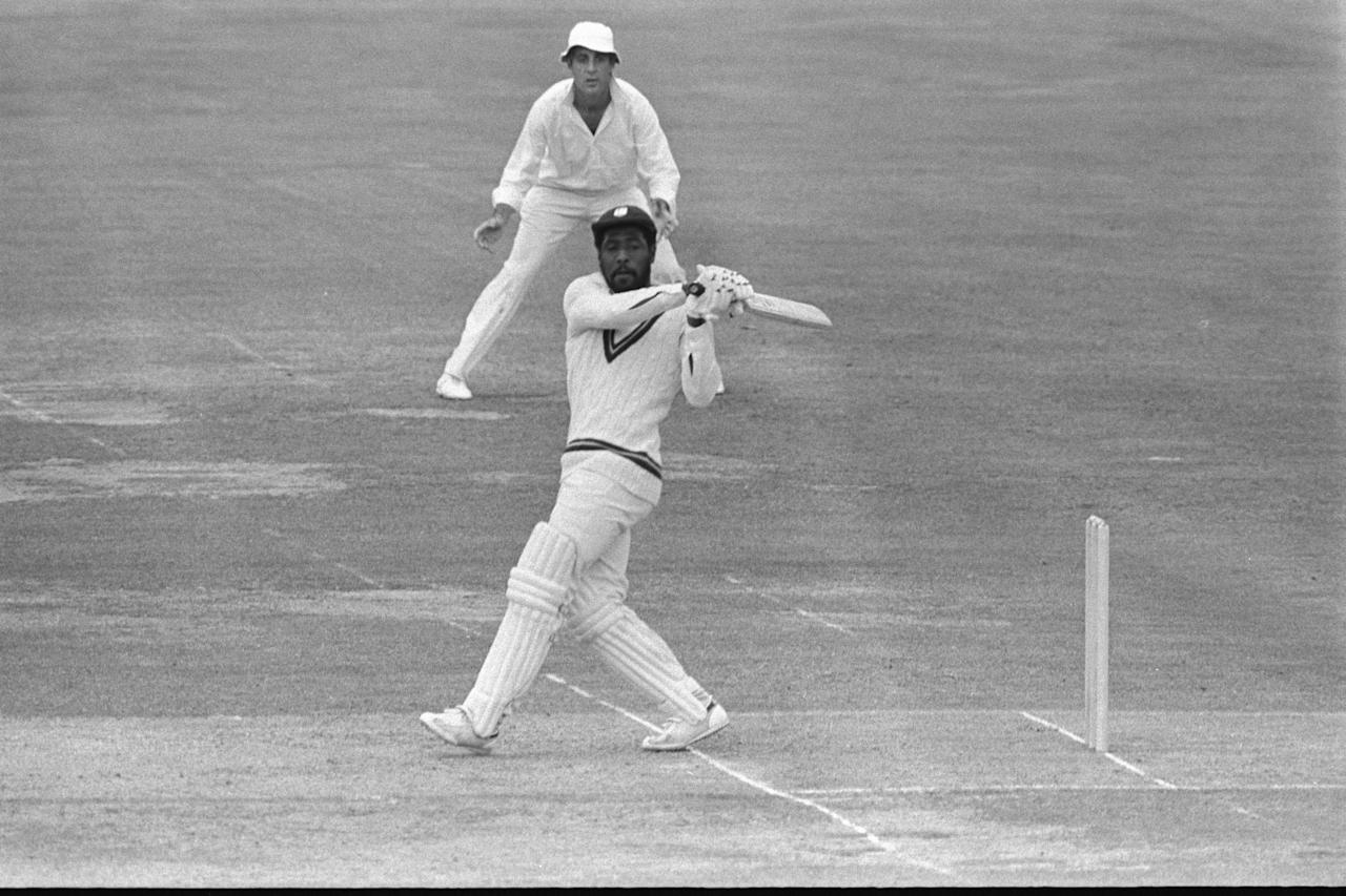 Jun 1979:  Viv Richards in action during the 1979 Cricket World Cup Final between the West Indies and England at Lords.   Mandatory Credit:  Adrian Murrell/Allsport UK