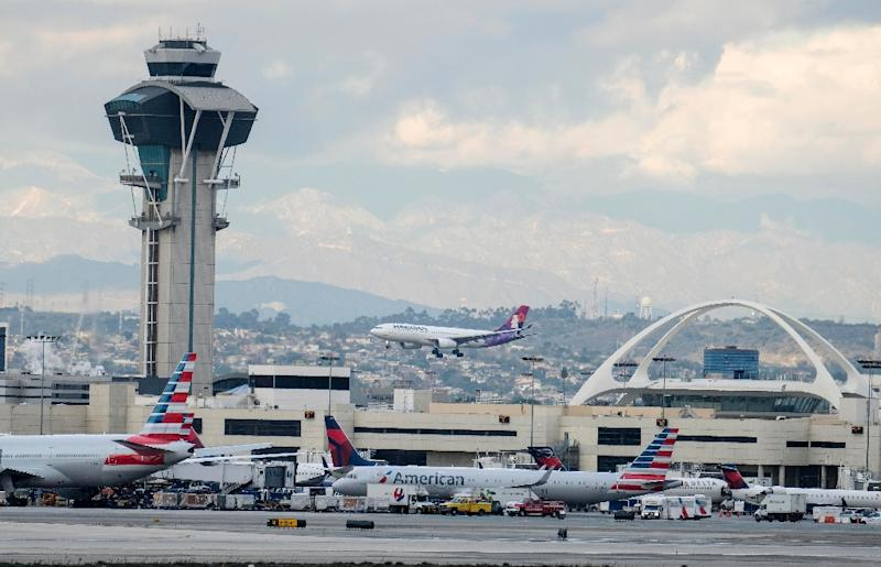 Police and FBI agents met with the passenger and crew when the plane landed in Los Angeles and determined after questioning both sides that no crime had been committed, airport police spokesman Rob Pedregon said