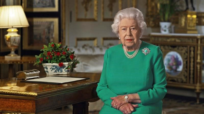 Queen makes rare public speech in response to COVID-19 pandemic