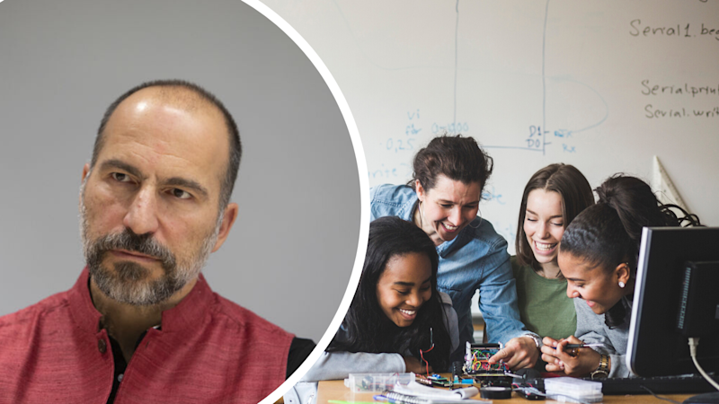 Uber CEO reveals the two subjects all students should study. Source: Getty
