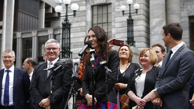 PM Selandia Baru Jacinda Ardern (AP Photo/Nick Perry)