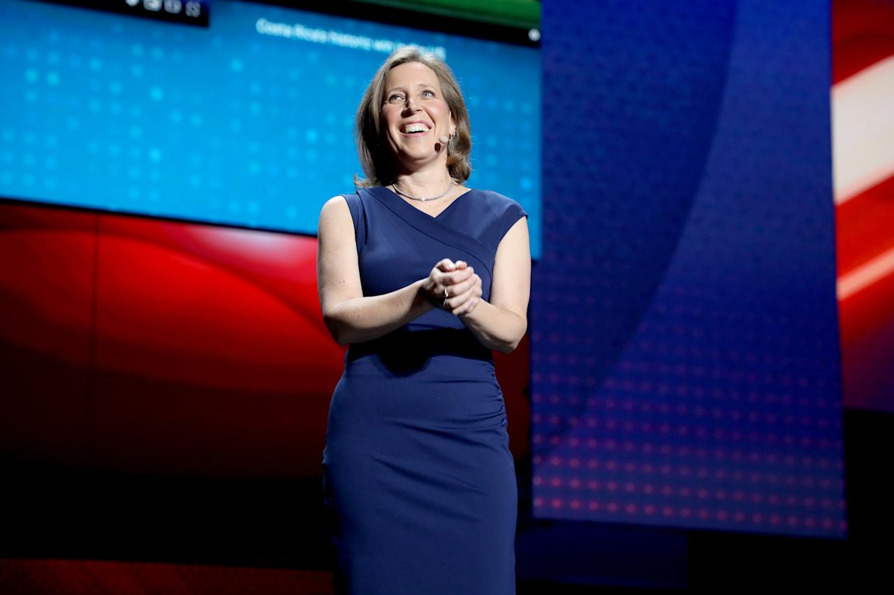 Wojcicki, 52, was involved in the founding of Google and became Google's first marketing manager in 1999. She later led the company's online advertising business and was put in charge of Google's original video service. After observing the success of YouTube, Wojcicki proposed the acquisition of YouTube by Google in 2006 and has served as CEO of YouTube since 2014. Wojcicki has an estimated net worth of nearly $500 million.