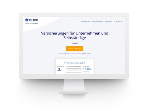 Zurich Insurance Group and CoverWallet Launch Online Platform for Small and Medium-Enterprise Insurance in Switzerland