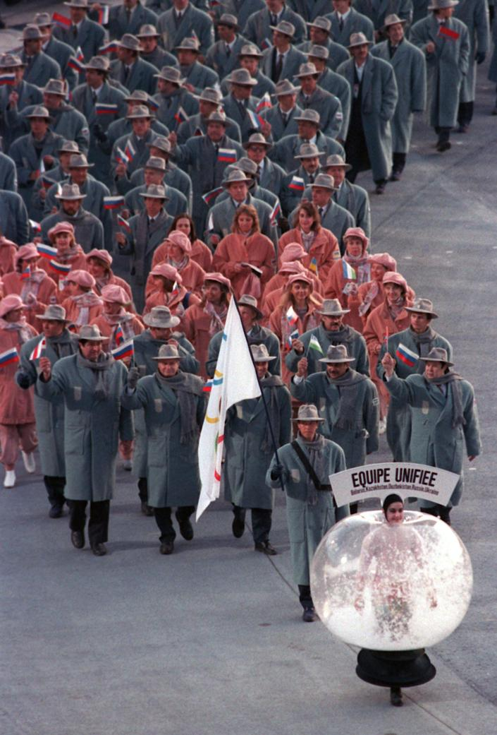 Barcelona 1992, opening ceremony (AFP via Getty Images)