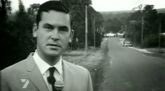 After a start in radio for Sydney's 2GB, Ian Ross began his TV career in 1965. Photo: 7News