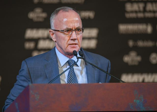 Bob Bennett, executive director of the Nevada Athletic Commission. (Getty Images)