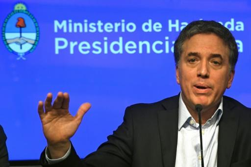 Argentina's Economy Minister Nicolas Dujovne is due to meet with the IMF's chief and a senior US Treasury official as the country seeks a financing package to help shore up its struggling