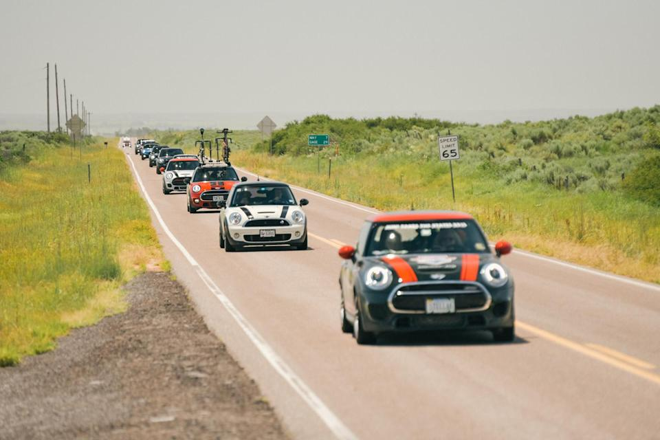 MINI Together National Day of Motoring Summer Adventure 2021