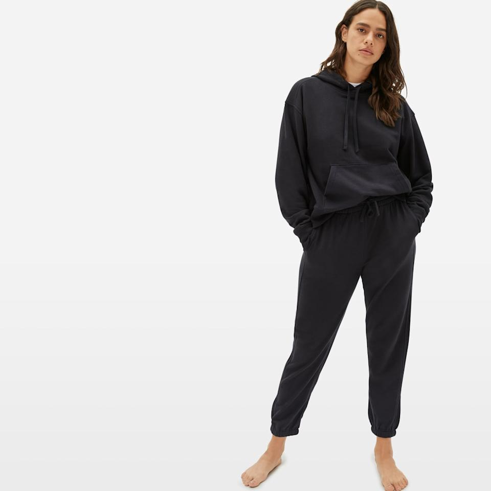 Everlane's The Lightweight French Terry Hoodie. (Image via Everlane)