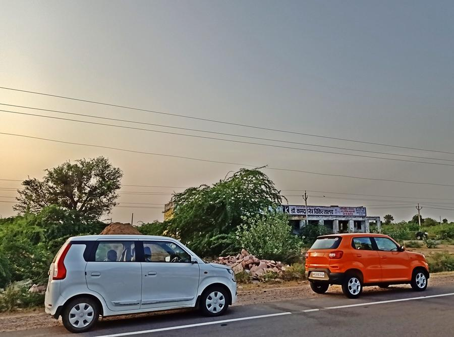 The WagonR is for those who want more space and comfort and who are turned off by the 'mini SUV' look of the S-Presso. For us the S-Presso AMT is a good city car option and the more desirable of the duo here.