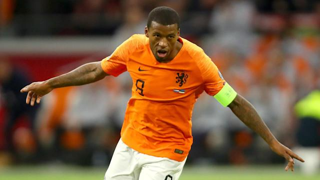 Netherlands recovered from a 0-0 draw with Northern Ireland by beating Estonia 5-0, with Georginio Wijnaldum netting a hat-trick.